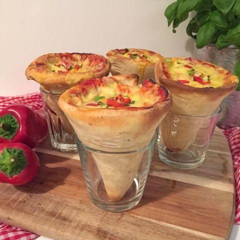 Pizzatüten, Pizza Cones oder auch Einhornpizza | olles Himmelsglitzerdings Küche und mehr | Bloglovin'