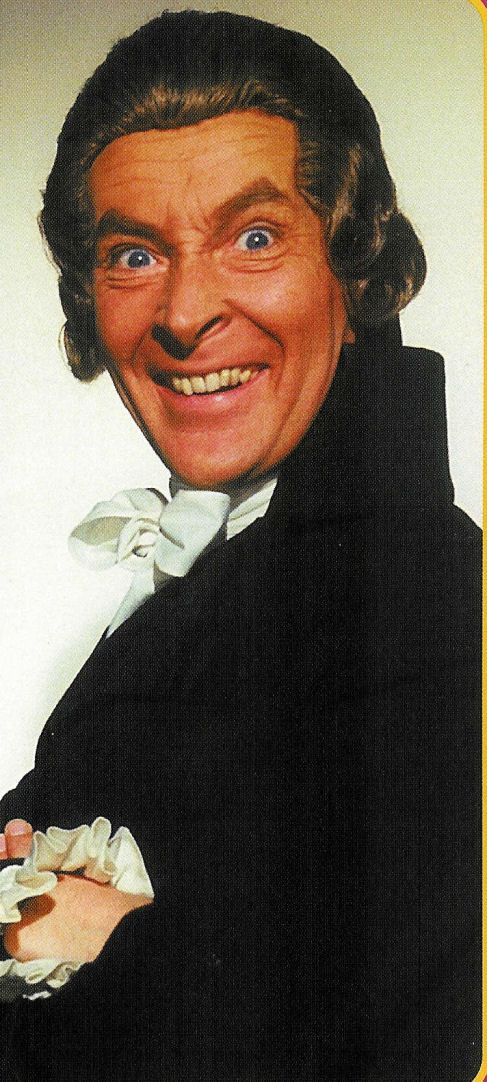 Kenneth Williams as Citizen Camembert in Don't Lose Your Head (1966) - the thirteenth in the series of 'Carry On' films to be made, and one of only two not to have 'Carry On' in the original title, which was later reinstated when the Rank Organisation realised the value of branding.