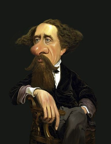 Charles Dickens (medium) by rocksaw
