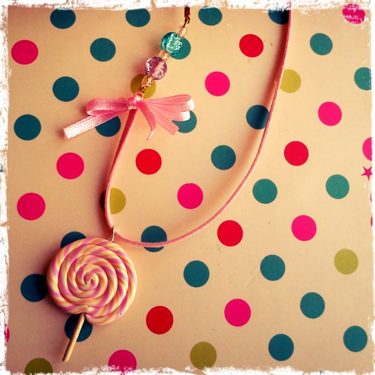 pink lolly pop charm