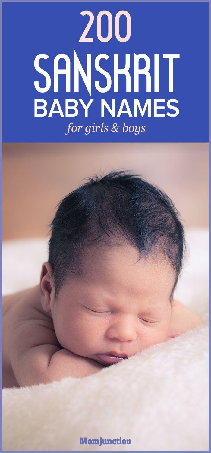 200 Sanskrit Baby Names For Boys And Girls.