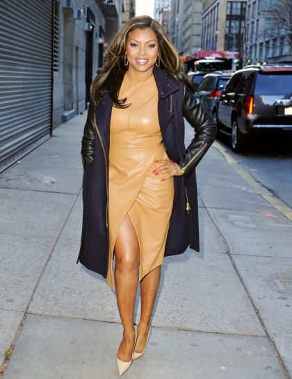 Work it girl....can't wait to see you in the new Fox Show Empire----->Taraji P. Henson