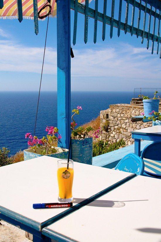 Aegean Blue, Karpathos, Greece - onde queria estar no momento.