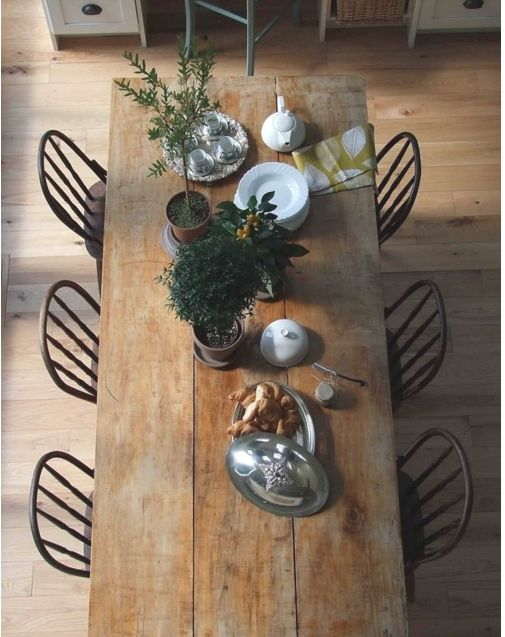 farm table- going to make one of these someday