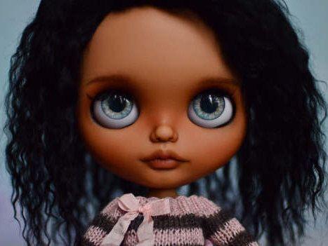 """Custom Blythe Doll, Articulated Body,  """"Tisha"""" by Pliskytrix by Pliskytrix on Etsy https://www.etsy.com/listing/503423260/custom-blythe-doll-articulated-body"""