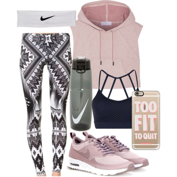 Workout-A fashion look from May 2016 by forever-inspired featuring adidas, Lorna Jane, NIKE and Casetify
