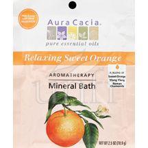 Aura Cacia, Mineral Bath, Relax Citrus, 2.5 Oz, 6 pack