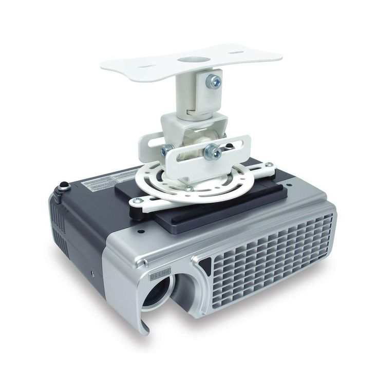 Flush Projector Mount, White