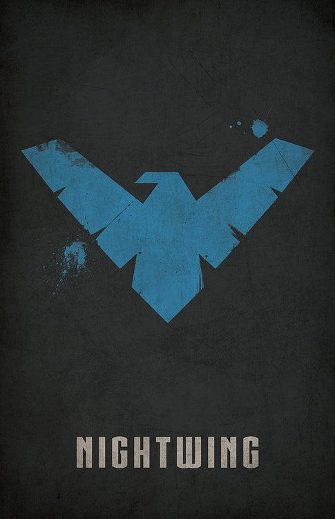 Nightwing Minimlist Poster - West Graphics