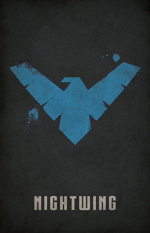Nightwing Minimlist Poster - West Graphics