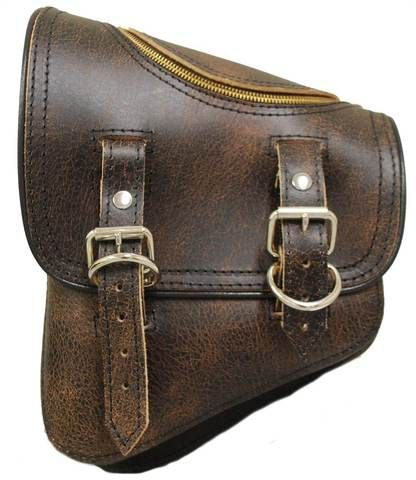 New Softail Saddle Bags with Easy Access Zipper
