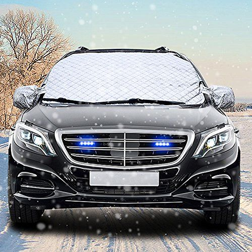 Windshield Snow Cover CARSUN Ultra Thick with 4 Layer Ice Protector and UV Proof for Winter Ice Car Windshield Cover - 58 x 38 Inches fit for Universal Cars, Trucks, SUVs and Vans. For product info go to:  https://www.caraccessoriesonlinemarket.com/windshield-snow-cover-carsun-ultra-thick-with-4-layer-ice-protector-and-uv-proof-for-winter-ice-car-windshield-cover-58-x-38-inches-fit-for-universal-cars-trucks-suvs-and-vans/