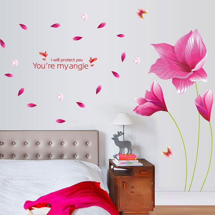 64 best Muurstickerswallstickers images on Pinterest Bedroom