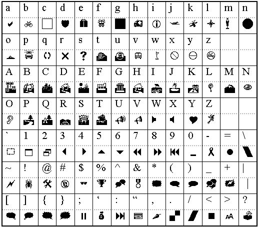 Wingdings Lightning Bolt Images - Reverse Search