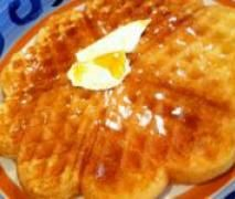 Easy Peasy Waffles