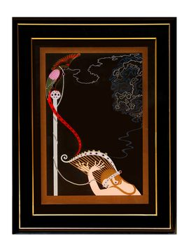 Enchanted Melody, 1985 by Russian Erte (Framed Serigraph) from Luck Be a Lady: Art by Erté