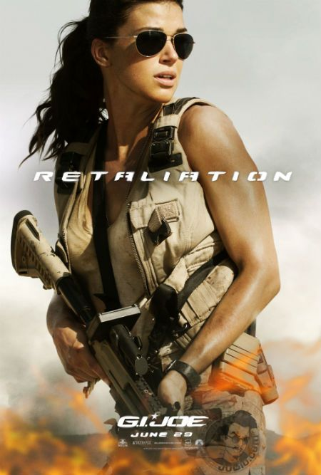 Exclusive character poster for G.I. JOE: RETALIATION, featuring Lady Jaye (Adrianne Palicki).
