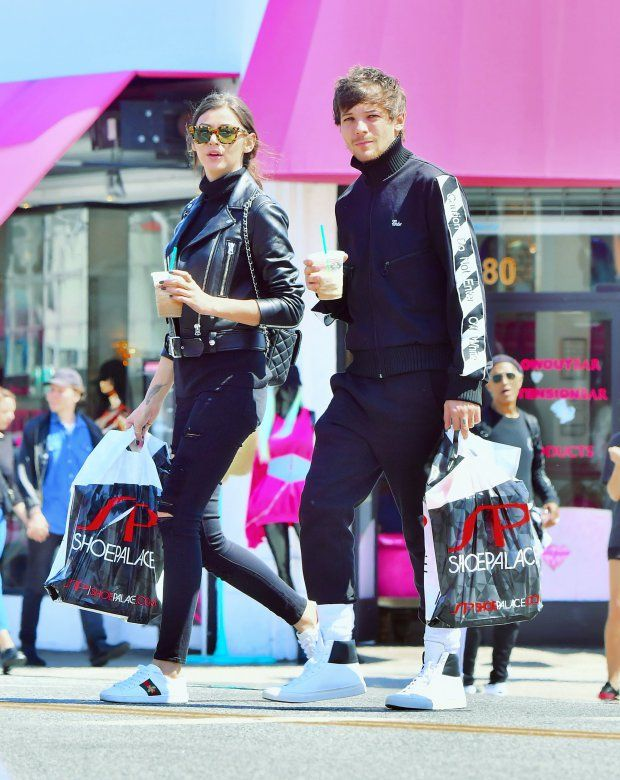 LOUIS TOMLINSON & GIRLFRIEND ELEANOR SPOTTED SINCE AIRPORT ATTACK! (VIDEO) - BoyBands.co.uk |