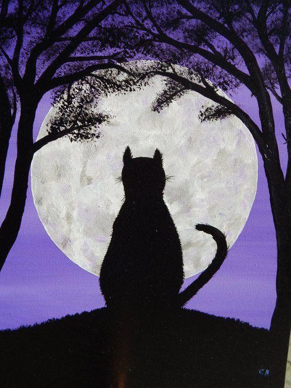 кошки под луной картинки привлекаем сотрудничеству проверенных