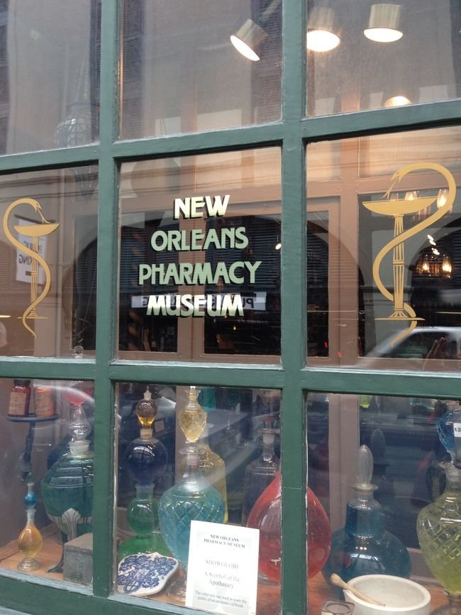 Big City Culture in New Orleans: New Orleans Pharmacy Museum, New Orleans, Louisiana