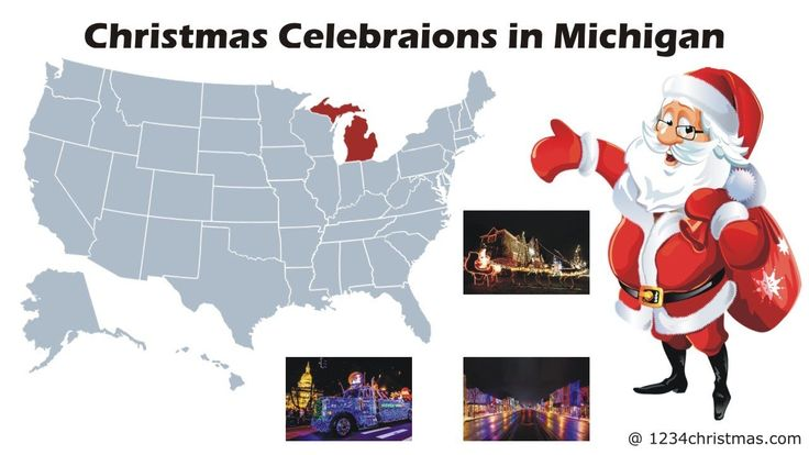 Christmas 2017 Celebrations in Michigan, Lansing, Detroit, Silver Bells in the City, The Big, Bright Light Show, Wayne County Lightfest, Christmas Parade in Grand Ledge