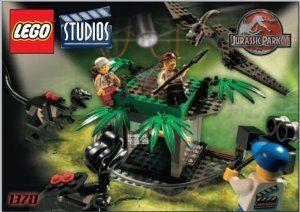 LEGO Studios Set #1370 Jurassic Park 3 Raptor Rumble Studio by LEGO. $135.07