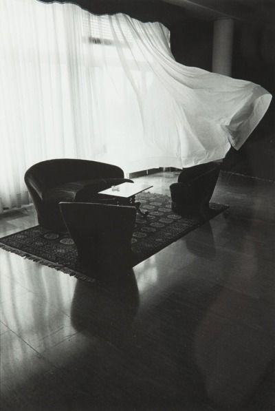"zzzze: ""Eva Rubinstein Hotel Lobby - Ancona , 1979 black and white on photo paper """