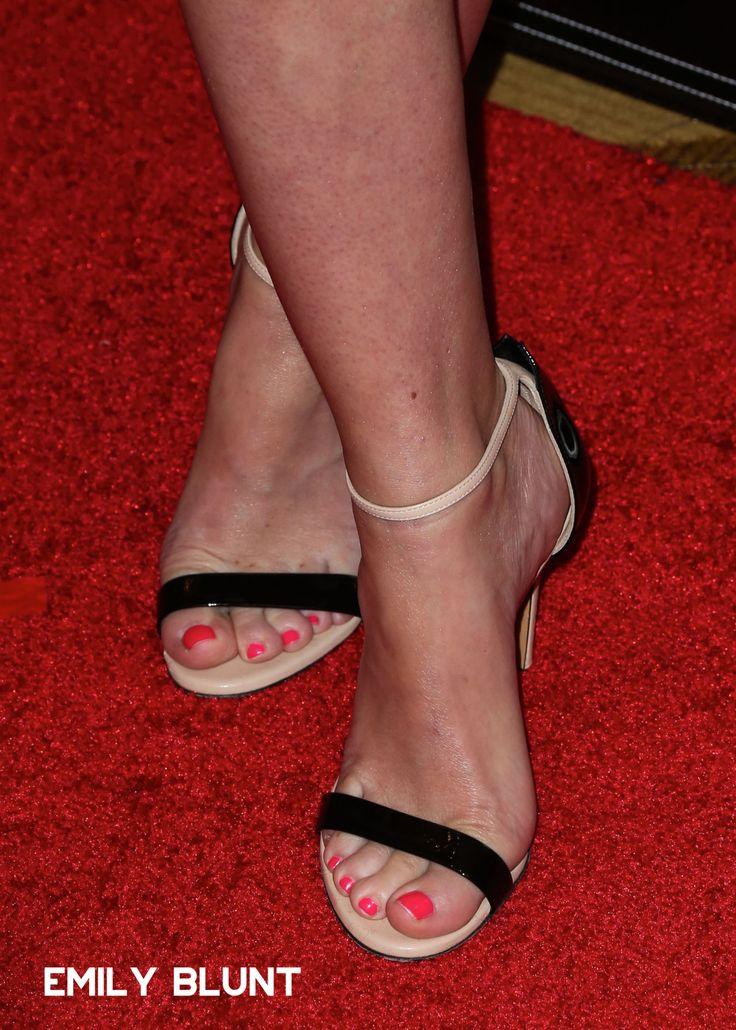 Emily Blunt Feet