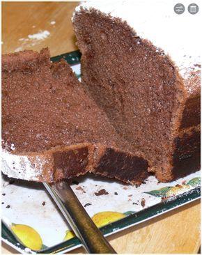 Dolce con farina di castagne e cacao