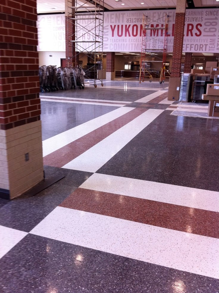 Fritztile manufactures high quality terrazzo floor tile perfect for high traffic area where longevity and low maintenance requirements are essential
