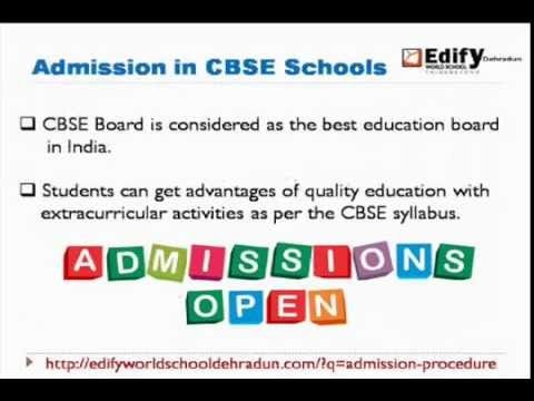 Watch this video to get genuine reason to take admission in CBSE schools Dehradun.