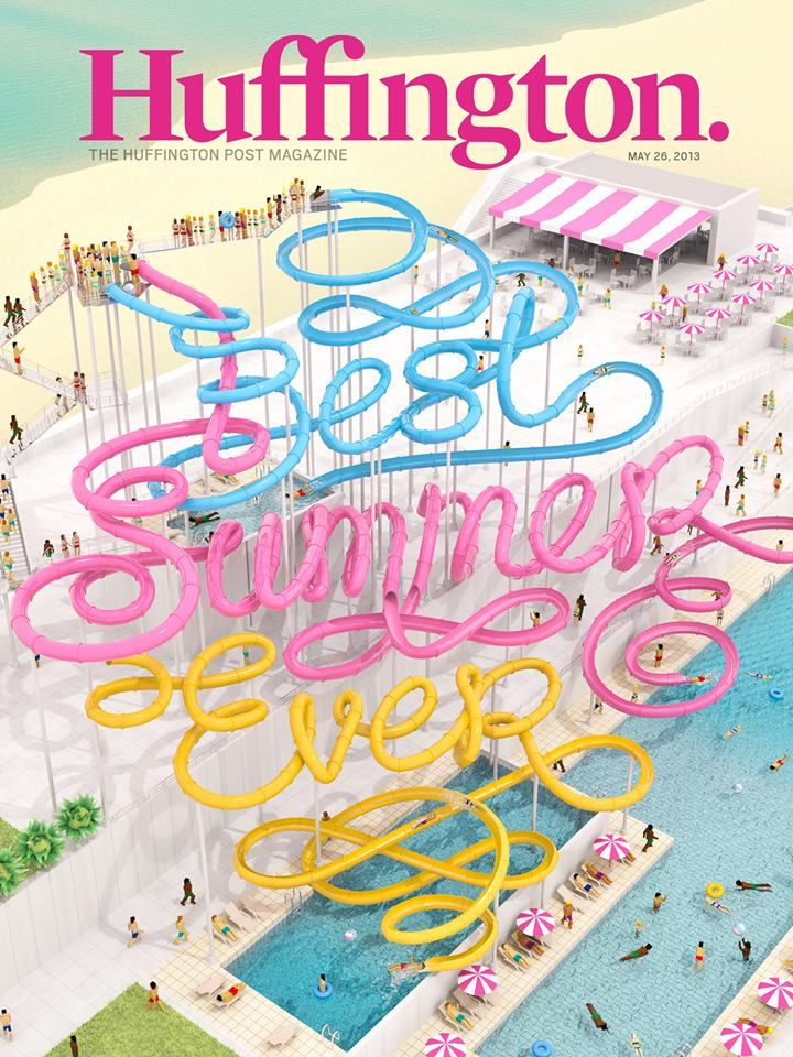 Huffington Summer Cover