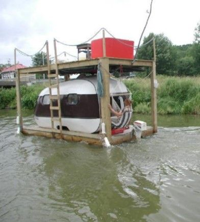 Unusual caravan or trailer projects