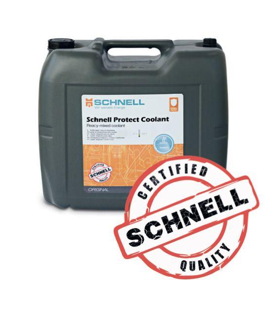 SCHNELL Motoren GmbH / Der Hersteller für Blockheizkraftwerke. - Produkte - Schmierstoffe - SCHNELL PROTECT COOLANT