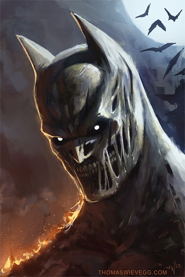 Batman By Thomas Wievegg