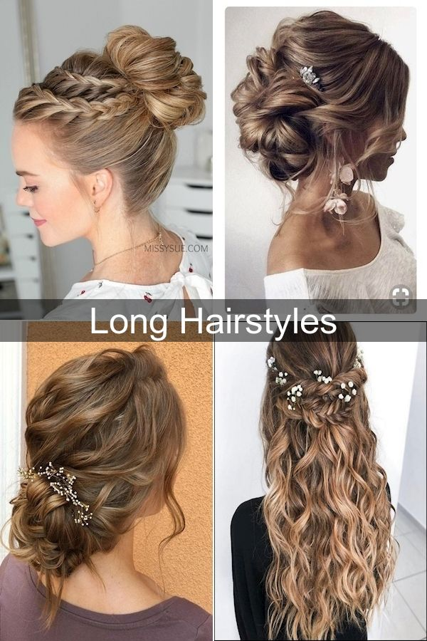 Simple Updo Hairstyles New Hairstyle For Girl Long Hair Professional Hair Updo In 2020 Long Hair Styles Hair Styles Easy Updo Hairstyles