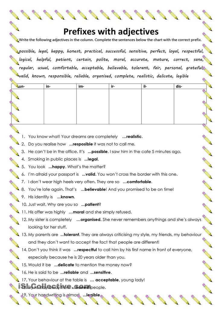 Persuasive Writing Practice Worksheets Excel  Best Prefixes Suffixes Images On Pinterest  Prefixes  Column Addition And Subtraction Worksheets Ks2 Pdf with Life In The Middle Ages Worksheet Word Students Complete The Chart And Complete The Sentences Adding The Correct  Prefix The Task Helps To Revise The Use Of Prefixes With Adjectives To  Form The  Spanish Practice Worksheets