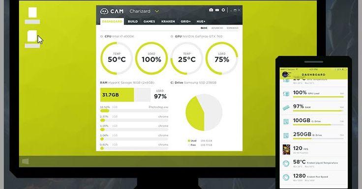 - Το CAM είναι ένα δωρεάν λογισμικό παρακολούθησης για υπολογιστές που τρέχουν Windows που δημιουργήθηκε από το NZXT για λάτρεις PC και gamers. Τα τελευταία χρόνια οι απαιτήσεις έχουν αυξηθεί έτσι οι χρήστες χρειάζονται πολλαπλές εφαρμογές για να παρακολουθούν τις θερμοκρασίες των βασικών εξαρτημάτων του υπολογιστή τους να υπερχρονίζουν τις κάρτες γραφικών τους και να εμφανίζουν FPS στα παιχνίδια που τρέχουν για να βλέπουν την απόδοση της κάρτας γραφικών τους.  - Το CAM έχει πλέον ενοποιήσει…