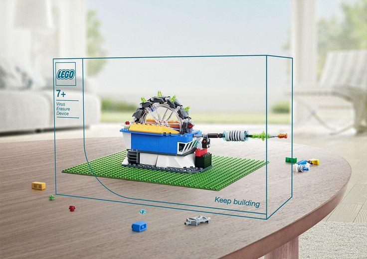 Future Machines - Lego on Behance