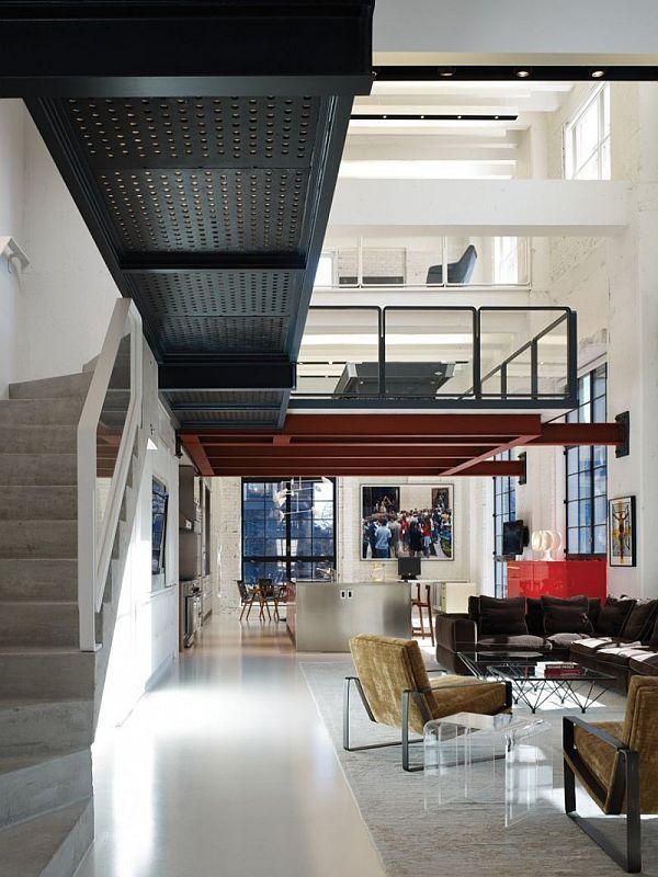 Beautiful Chicago Loft Interior Designed By Bertrand Benoit: Beautiful  Chicago Loft Interior Designed By Bertrand Benoit Image 3 Amazing Ideas