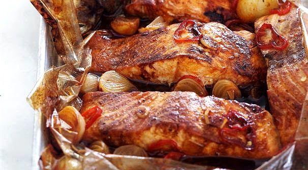 Кулинарный Рай: Рыба в пакете для запекания.