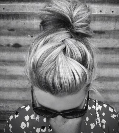 coiffure rapide pour tous les jours