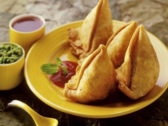 Indische Küche Rezepte Fleisch | Hackfleisch Taschen Auf Indische Art Recipe