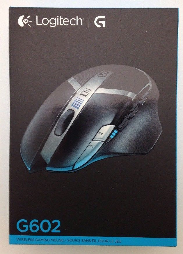 New Logitech G602 Lag-Free Wireless Gaming Mouse, 11 Programmable