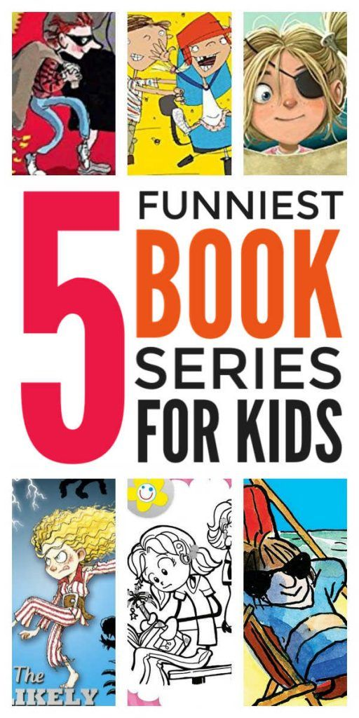 Funny Book Series For Kids Laugh Out Loud Chapter Books Series For