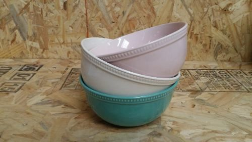 Bowl Colores Puntos Vintage Super Chic Moderno Bazar!!