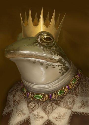 The Frog Prince by Kim Parkhurst