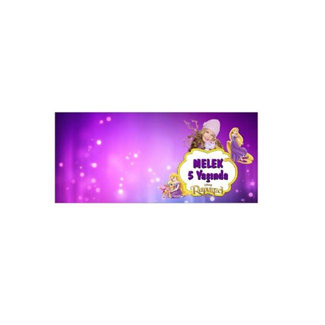 Rapunzel Kişiye Özel Karşılama Kartı 12-li