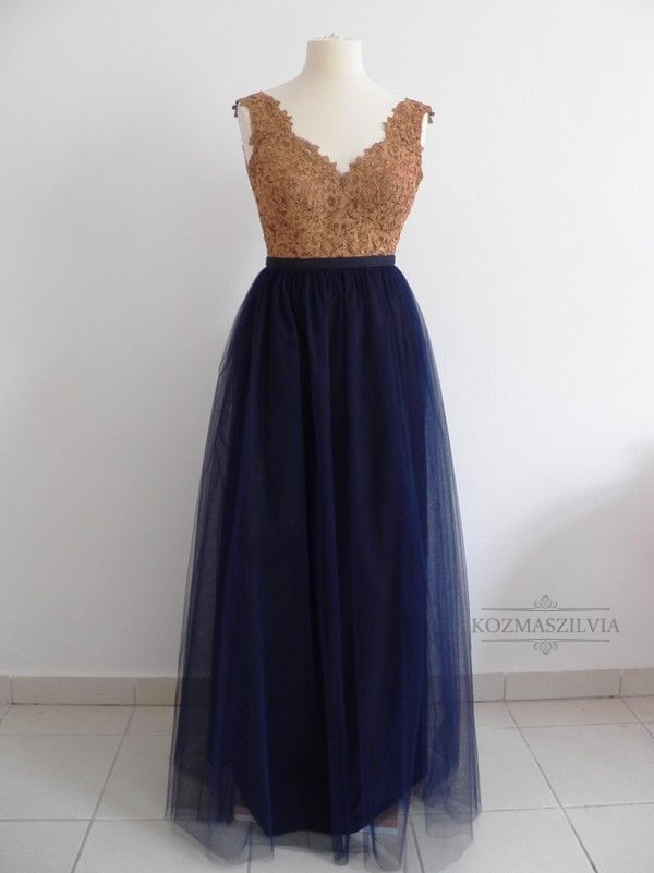 Evening dress, fashion, tulle skirt
