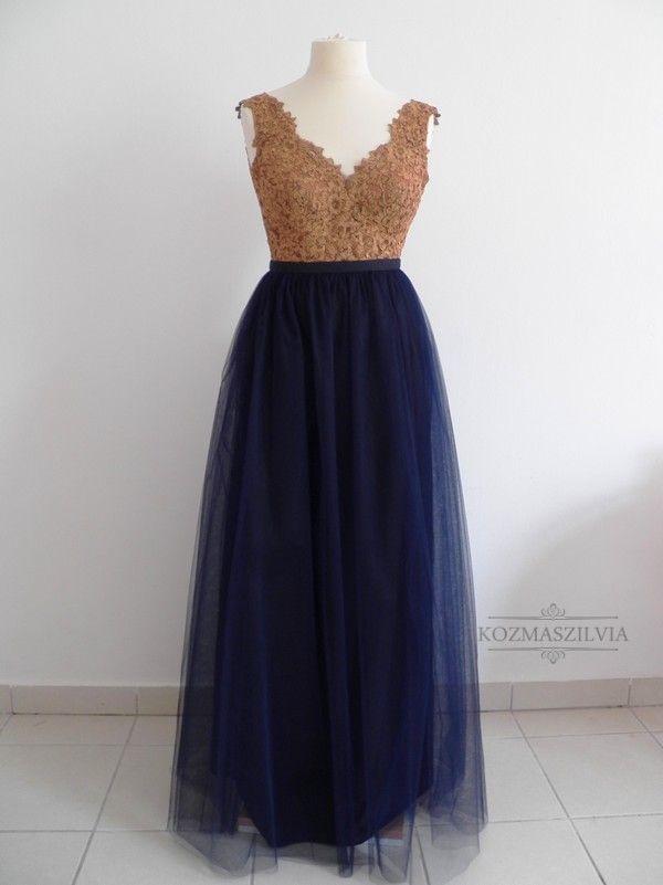 Evening dress, fashion, tulle skirt